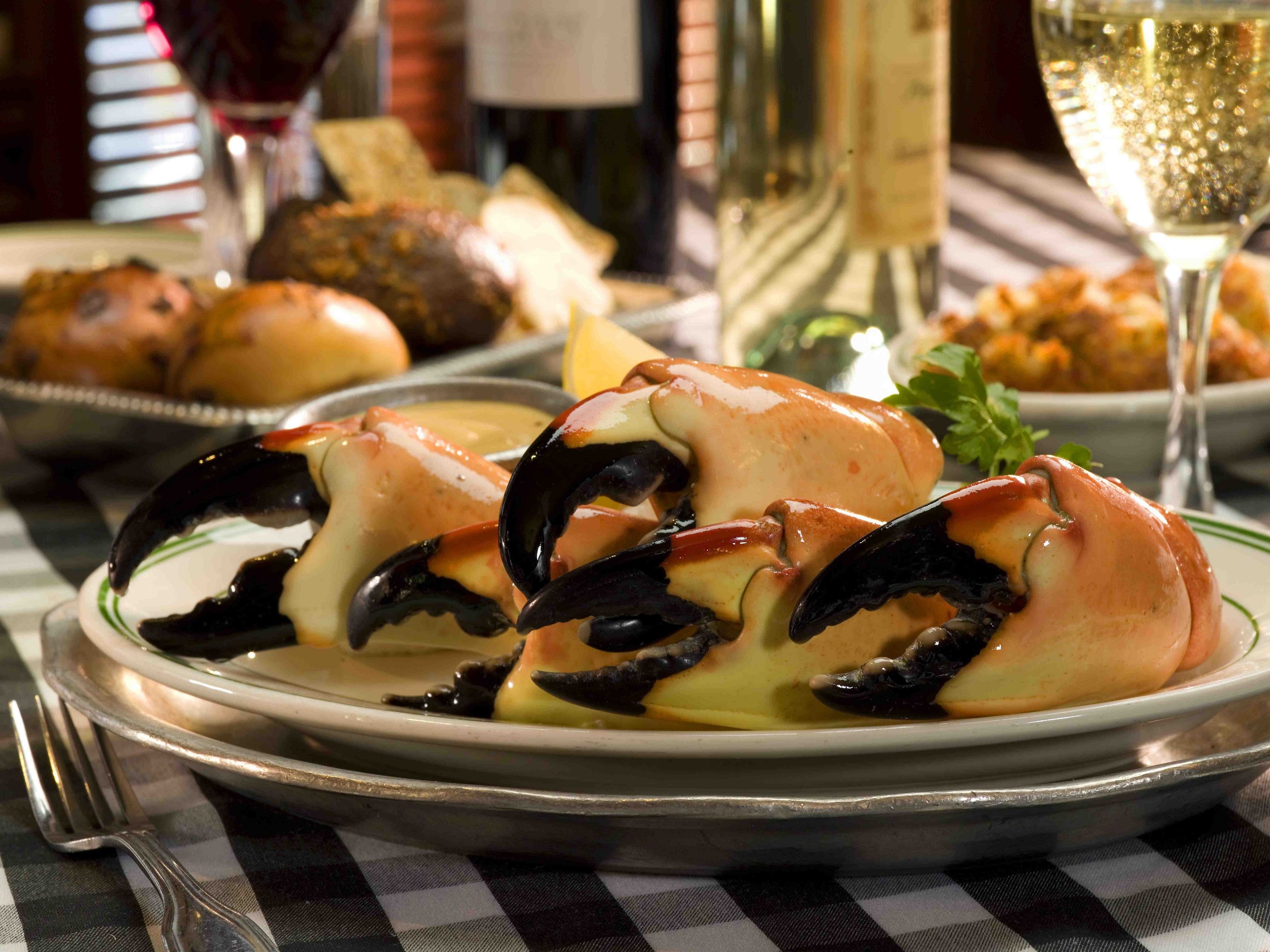 ¿Cangrejos en Miami?: Joe's Stone Crab